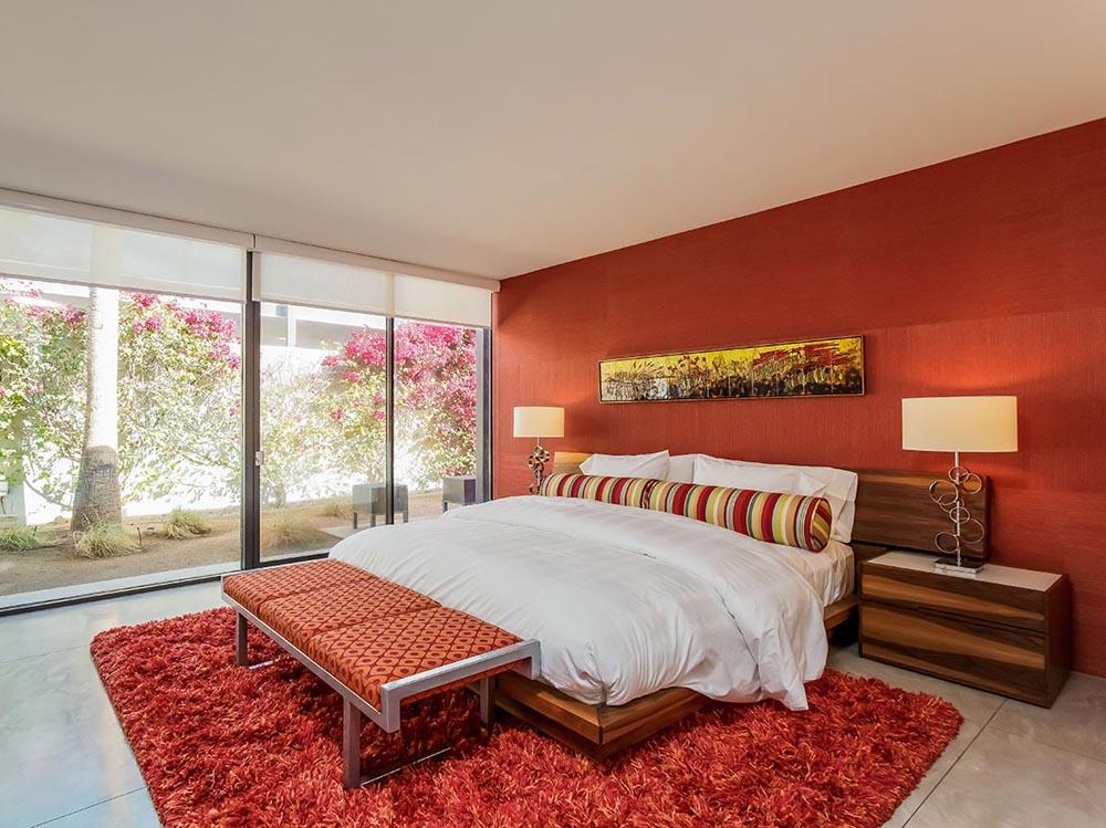 Cromoterapia il benessere parte dai colori quali scegliere per arredare casa - La camera da letto ...