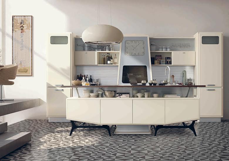 case in stile anni 50 cucina