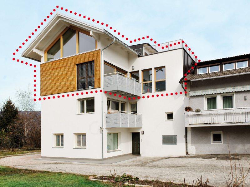 Sopraelevazioni soluzioni per ampliare la tua casa blog volpes case - Ampliare casa con struttura in legno ...