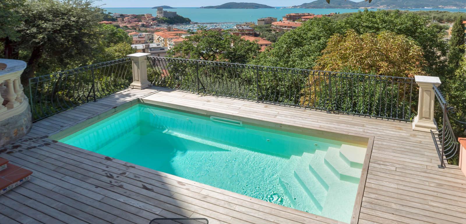 7 tipi di piscina per case con poco spazio blog volpes case for Piscina per terrazzo