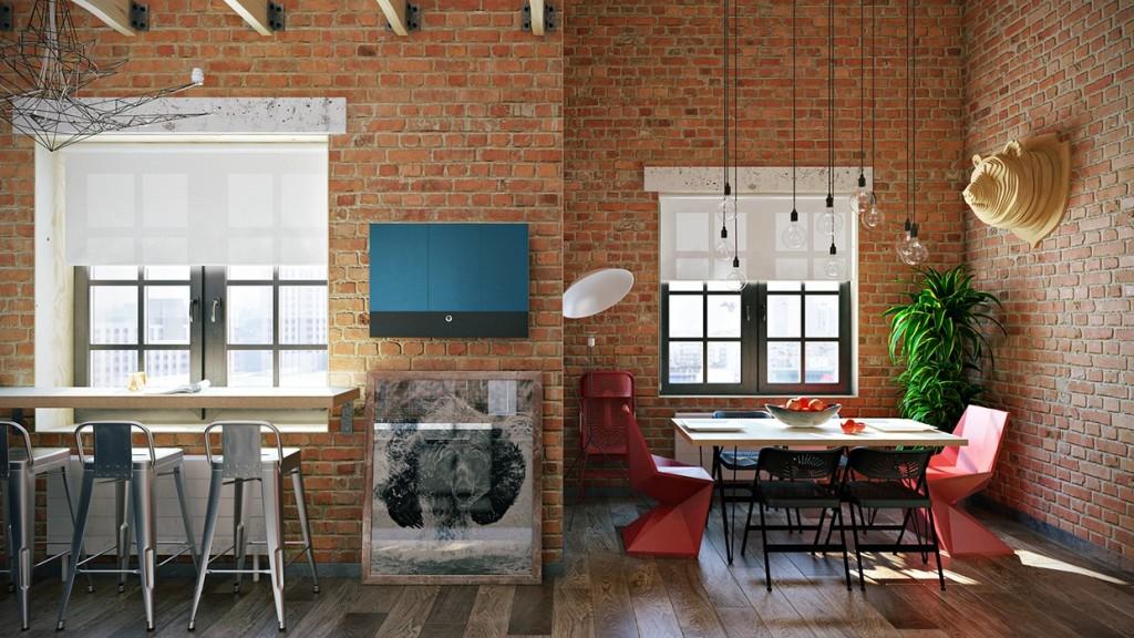 tendenze per il soggiorno industriale