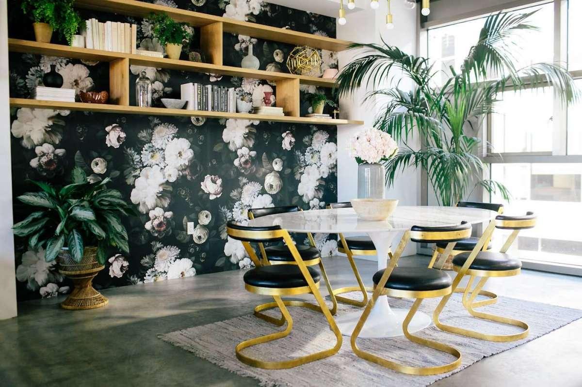 tendenze per il soggiorno floreale