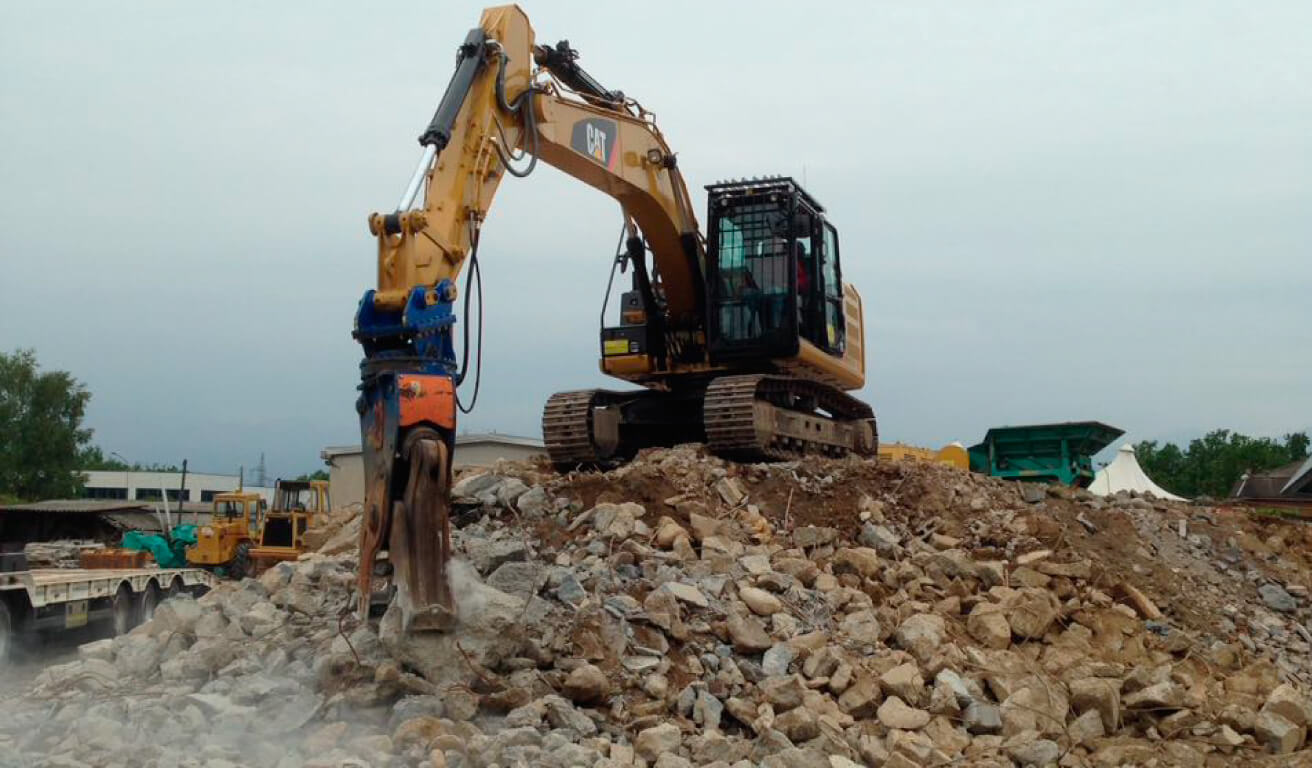 il riciclo di materiali edili