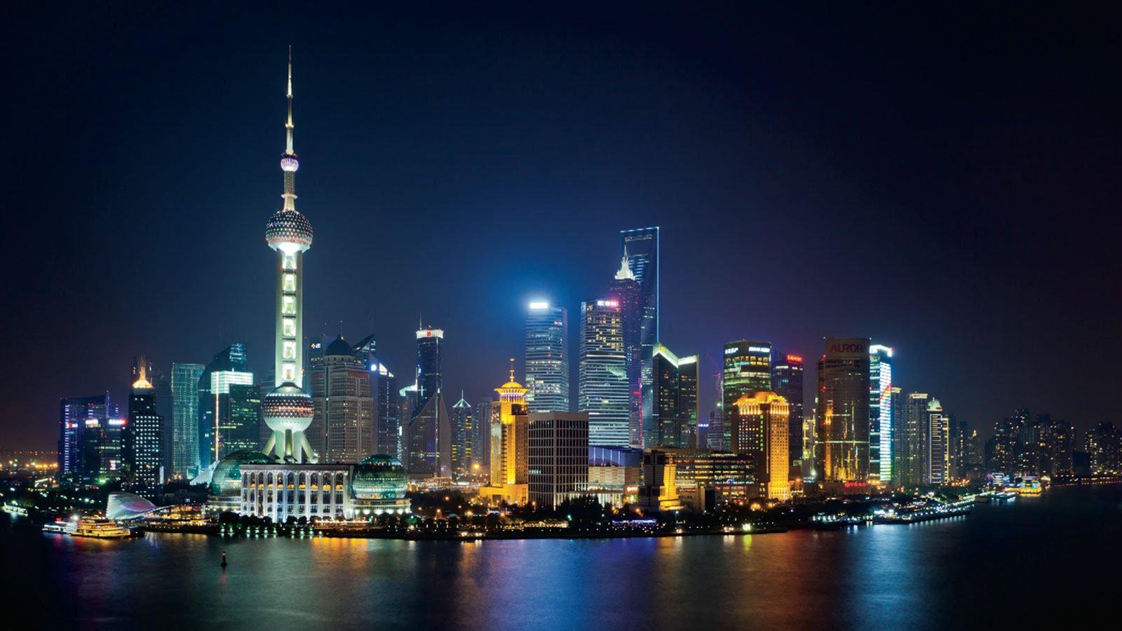shanghai skyline più belli