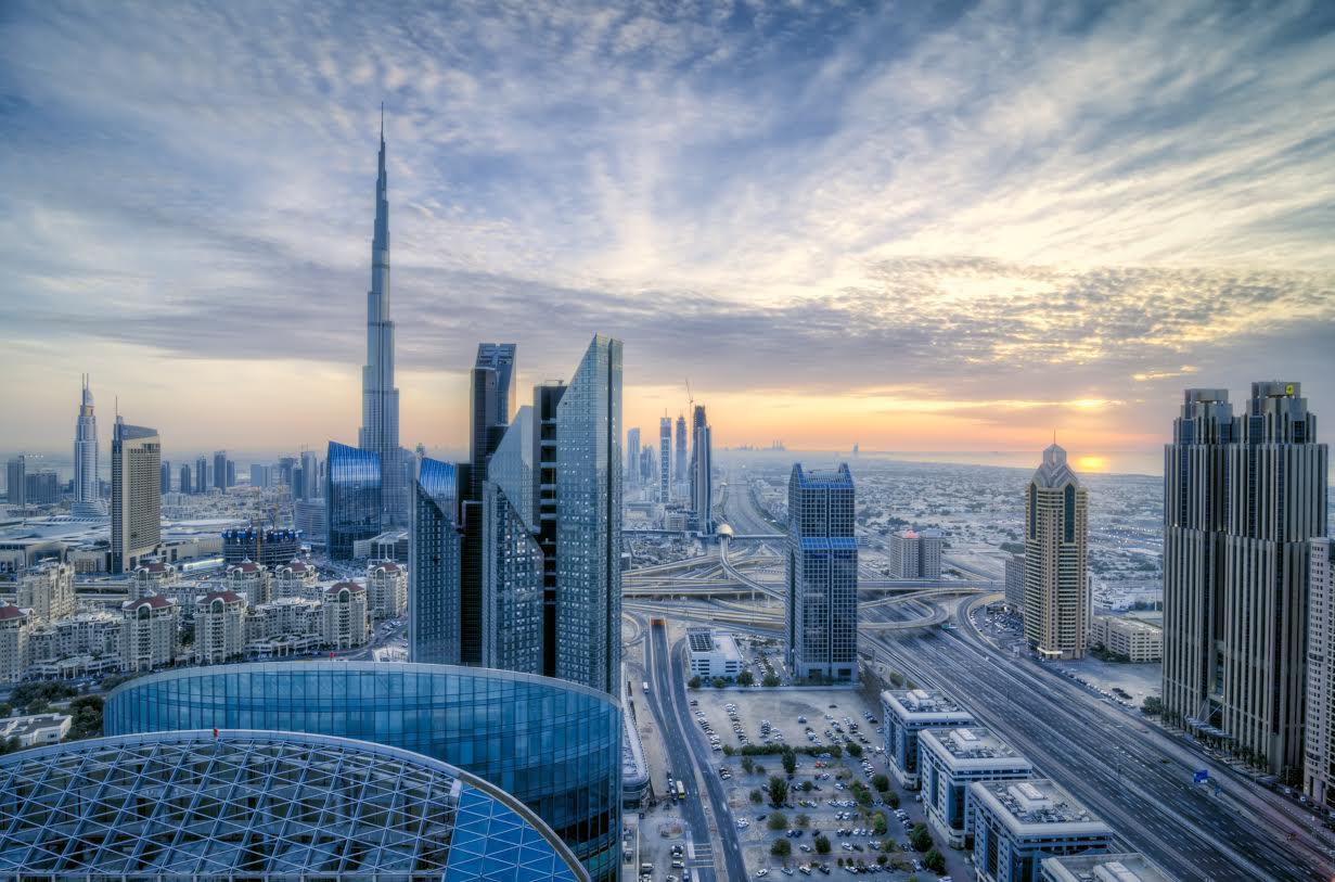 dubai skyline più belli