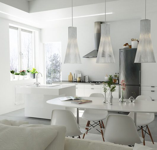 open space in soggiorno